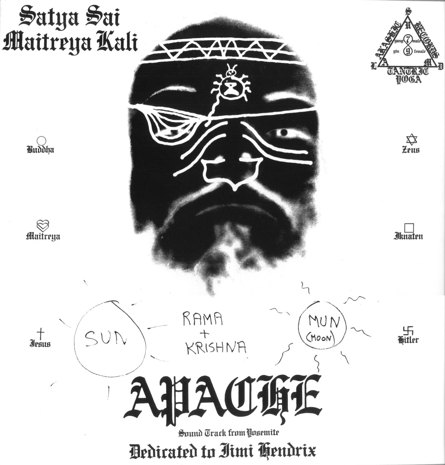 CRAIG SMITH / MAITREYA KALI - Apache-Inca 2-LP